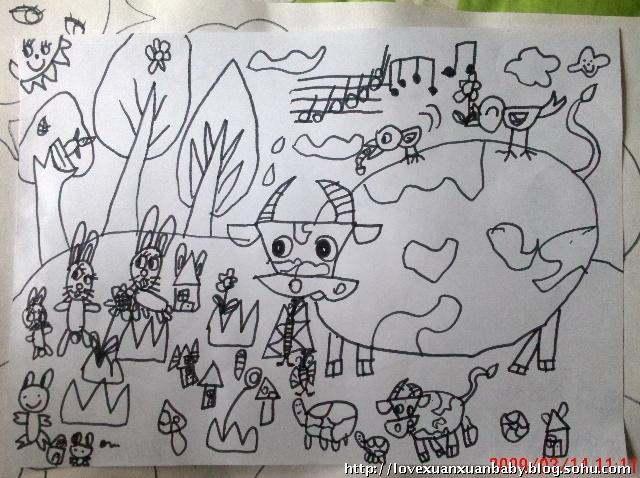 森林舞会,动物乐园_第7页_乐乐简笔画