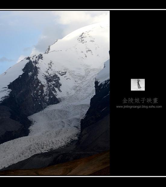 到慕士塔格的冰川