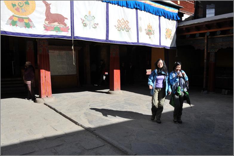徒步西藏 二十三 昌珠寺 雍布拉康