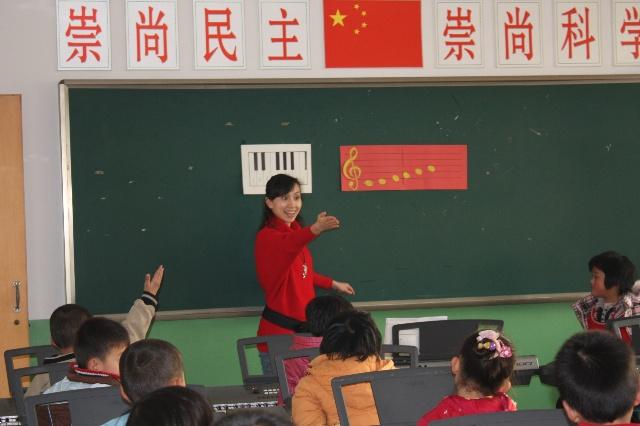 愉快的电子琴课 照片