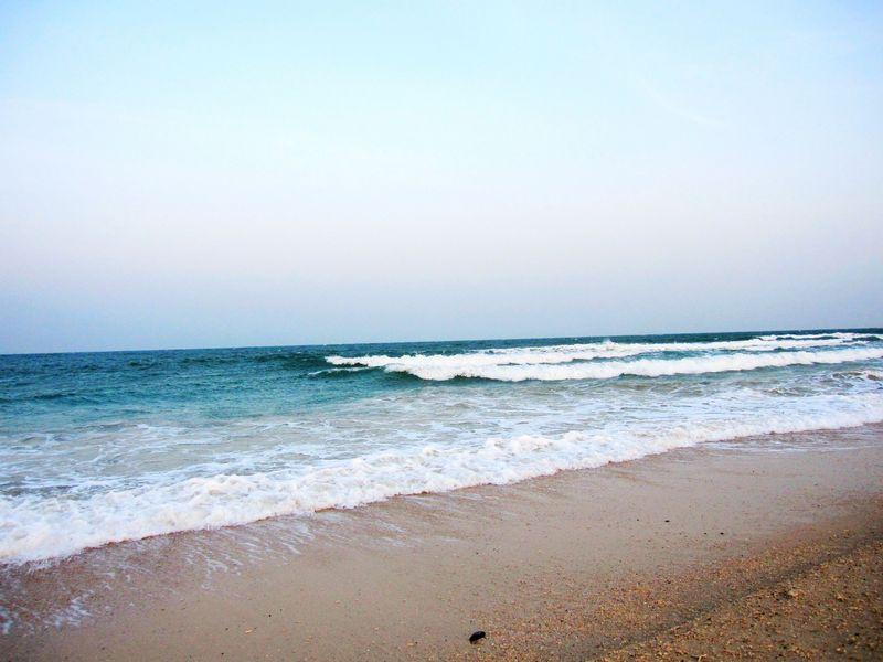 涠洲岛石螺口海滩/天主教堂/贝壳沙滩