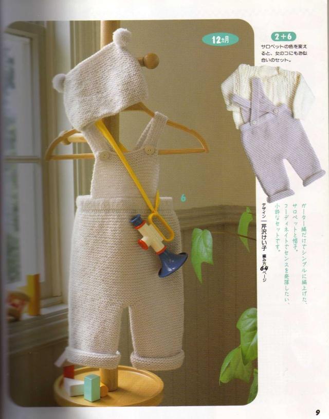 儿童背带裤图解(收藏)