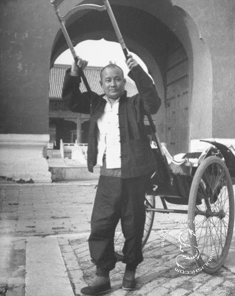 老北京的人力车夫