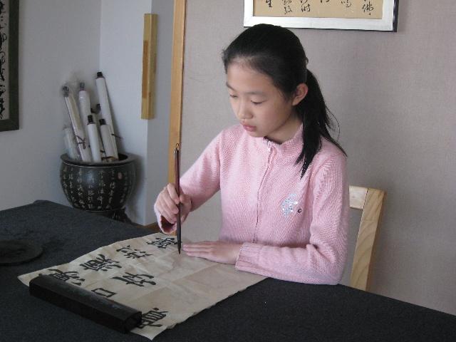 毛笔字运书法_毛笔书法的执笔方法书写姿势与运腕