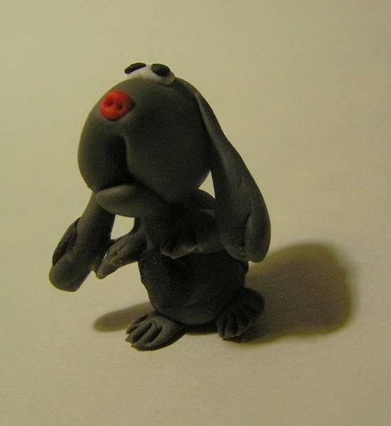 用像皮泥做的小动物立体图片