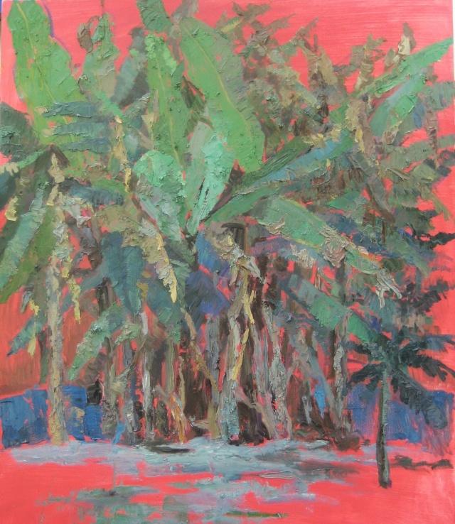 芭蕉树 - 油画焦点 - 文学艺术 - 搜狐圈子