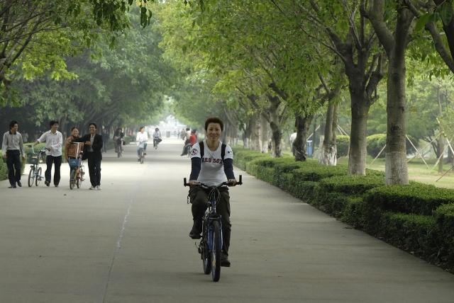 220,骑单车游广州大夫山森林公园