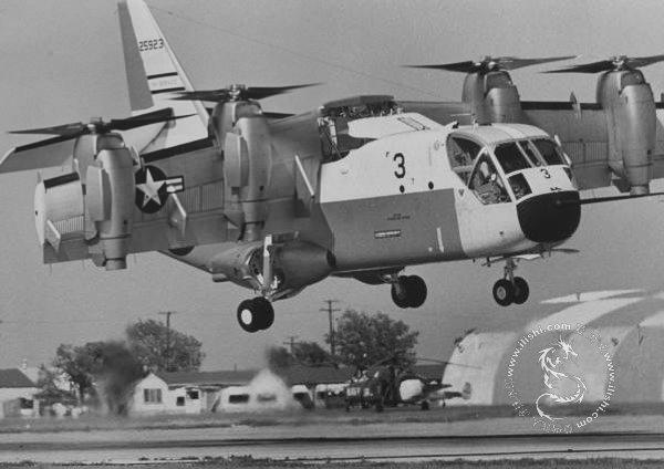 60年代美军的垂直起降试验飞机