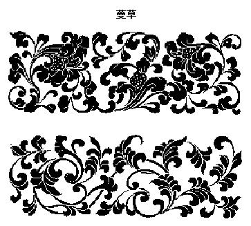 案----花果草木-100个中国传统古代吉祥图案