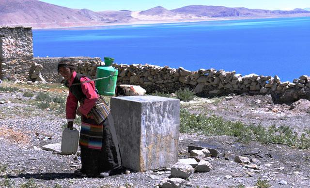 西藏 佩枯措湖