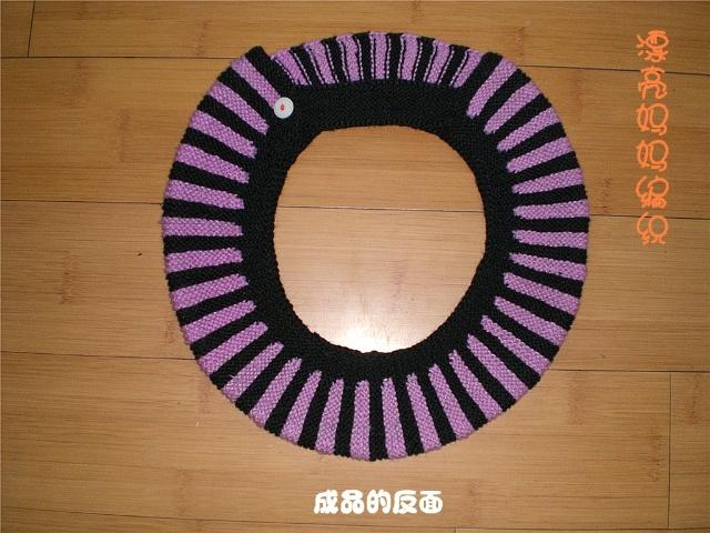 马桶套的编织(个人作品)