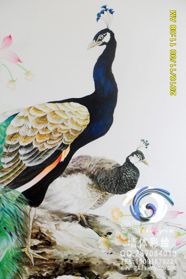 西安手繪墻 gf墻體彩繪