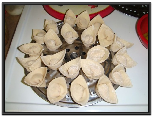 元宝水饺的包法图解
