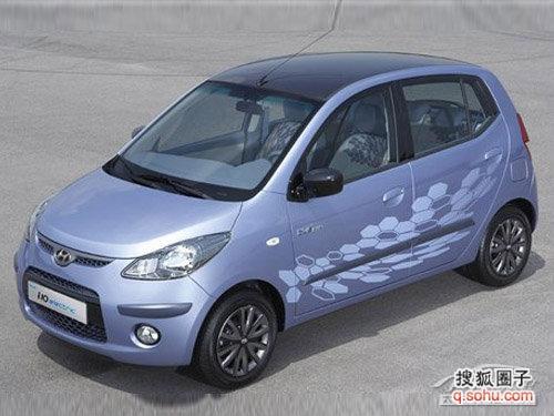 韩国现代起亚计划从2013年起销售电动汽车高清图片