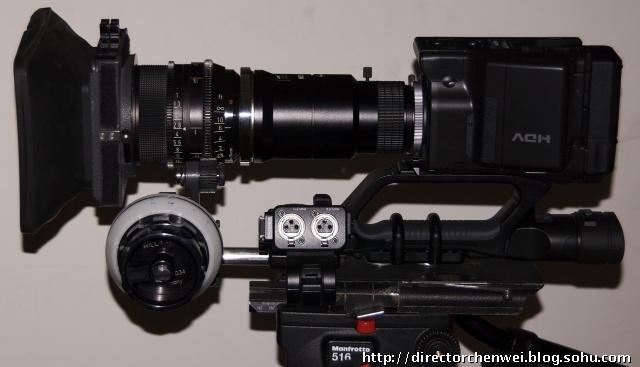 广播级摄像机使用hz-ca13u转接pl口电影镜头