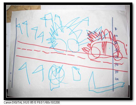 儿童桥的简笔画; 五星红旗简笔画; 飘扬五星红旗简笔画;