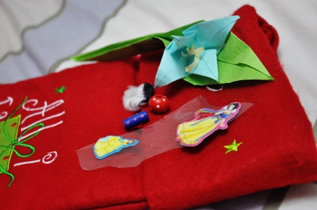 棉花圣诞老人贴画